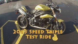 9. Triumph Triples - Part 1: 2013 Speed Triple Test Ride