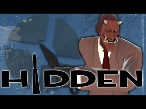 TF2 - Look at The Hidden for Team Fortress 2. Saxton Hale-esque spy stabbing custom video gaming. Server I was on: 206.212.61.22:27017 ----------------------------...
