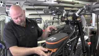 2. KTM 950 SM to SE part 3 installing the Rottweiler Air Intake System