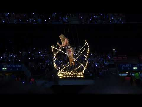 Video Taylor Swift - Delicate (live) - Wembley Stadium (Reputation Stadium tour) download in MP3, 3GP, MP4, WEBM, AVI, FLV January 2017