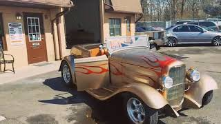 1932 Ford roadster customized