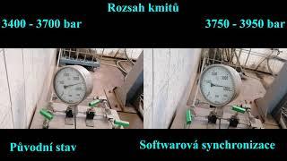 Softwarová synchronizace VT čerpadla