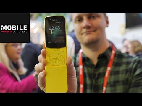 Nokia 8110 im Praxis-Test | Retro-Comeback | MWC 2018