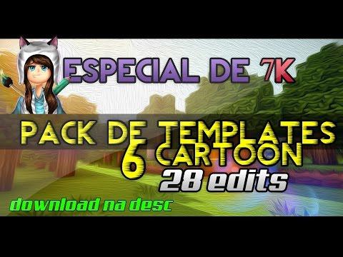 Video Especial de 7K! PACK COM 6 TEMPLATES E 28 EDIÇÕES (PEDIDOS OFF) download in MP3, 3GP, MP4, WEBM, AVI, FLV January 2017