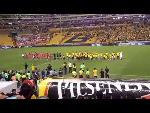 EMOTIVO!!! Recibimiento + Himno al Idolo - Barcelona 1 - Nacional 0 ( 4k UHD ) - Sur Oscura - Barcelona Sporting Club