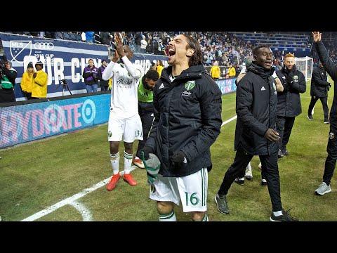 Video: Zarek Valentin | Sporting 2, Timbers 3 | MLS Cup Playoffs | Nov. 29, 2018