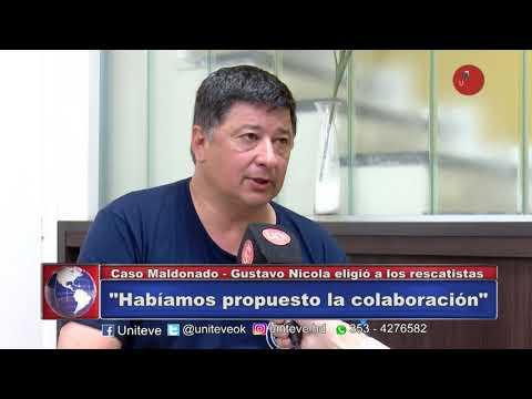 Nicola armó a la división rescatista de Chubut