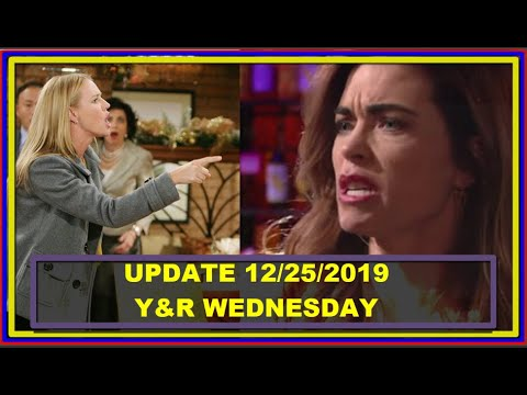 Y&R Spoilers December 25 - The Young And The Restless Full Episodes 12/25/2019
