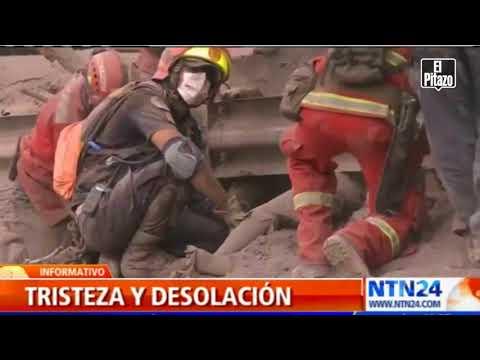 Erupción de Volcán en Guatemala dejó 45 muertos y mas de 2 millones de damnificados