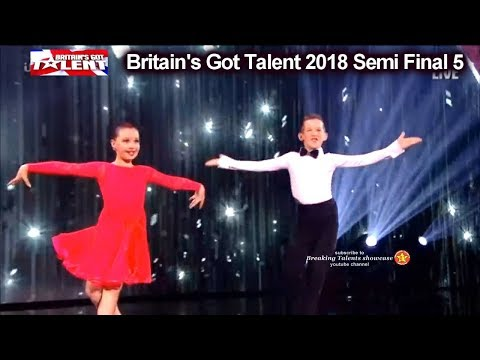 Lexi & Christopher Dancing Duo FANTASTIC FOOTWORK Britain's Got Talent 2018 Semi Finals 5 BGT S12E12