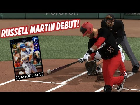 87 Russell Martin Debut! 100+ Power vs 10 MPH Wind!