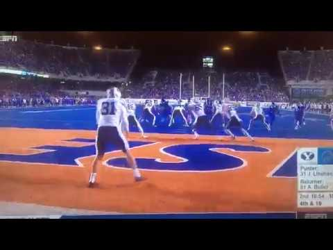 WATCH: BYU's Absurd Fake Punt Disaster