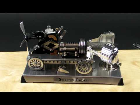 In the Maker Shed: Gakken Stirling Engine Kit