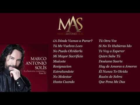 Letra No Puedo Olvidarla Marco Antonio Solís