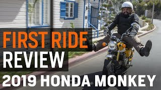 4. Honda Monkey First Ride Review