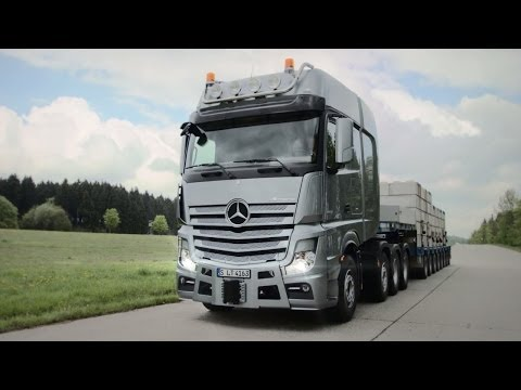slt - The new SLT heavy-haulage vehicle is a high-calibre specialist developed by Mercedes-Benz to meet the requirements of this highly demanding transport segment. Customers opting for the new...