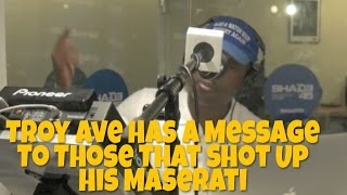 Video Troy Ave SPAZZES On Those Who Shot Up His Maserati and Haters On Dj Kay Slay MP3, 3GP, MP4, WEBM, AVI, FLV Agustus 2018