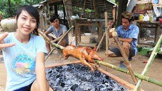 Video Yummy cooking BBQ pig recipe - Cooking skill Roast pig MP3, 3GP, MP4, WEBM, AVI, FLV Oktober 2018