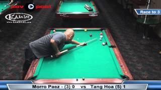 One Pocket FINAL - Tang Hoa Vs Morro Paez / Sept 2014