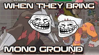 When they Bring Mono Ground vs your Mono Steel... by PokeaimMD