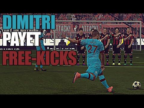 [PES 2016] Dimitri Payet - ALL FREE KICKS GOALS