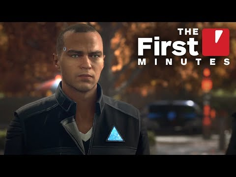The First 18 Minutes of Detroit: Become Human (видео)