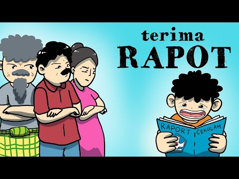 Kartun Lucu - Wowo Terima Rapot - Animasi Indonesia - Funny Cartoon