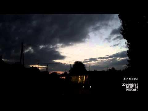 Авария в ночном Тамбове