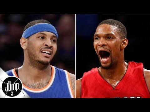 Video: What if Carmelo Anthony had joined the Heat instead of Chris Bosh? | The Jump