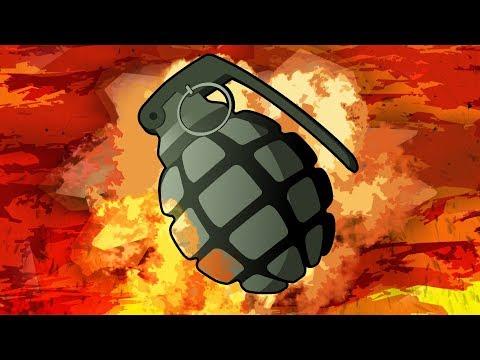 CRAZY GRENADE SPAMMER! Gmod Crazy Fun Grenade Launcher Deathmatch (Garry's Mod) (видео)