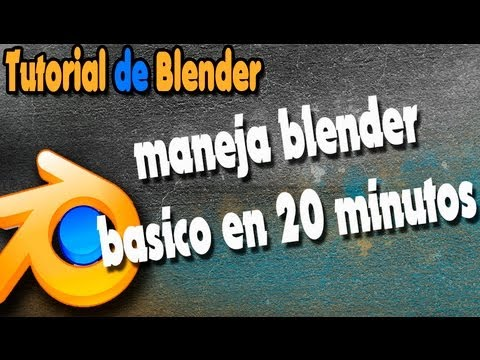 Tutorial De Blender 3d Basico
