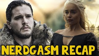 Game of Thrones Season 7 Episode 2 Nerdgasm Recap and it is a weird one. Pretty awesome episode and it definitely is keeping up with the amazing flow for ...