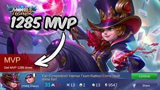 Download Video 1285 MVP HARLEY 'JOKER' GAMEPLAY! - MOBILE LEGENDS MP3 3GP MP4
