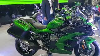 4. Kawasaki Ninja H2 SX SE Sports Tourer - Specs and Features : Auto Expo 2018 #ShotOnOnePlus