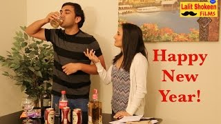 Video Happy New Year Desi Style - | Lalit Shokeen Comedy | MP3, 3GP, MP4, WEBM, AVI, FLV Januari 2018