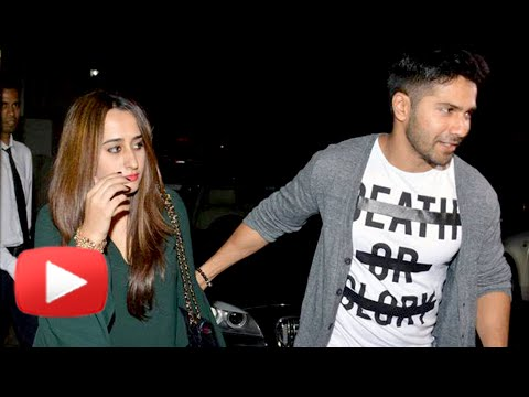 Varun Dhawan With Girlfriend Natasha Dalal On A Se