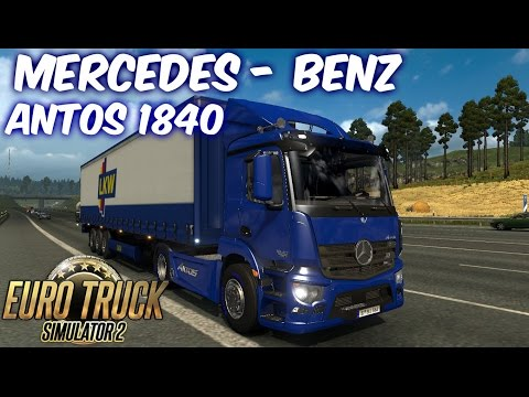 Mercedes Antos 1840 for 1.25/1.24/1.23