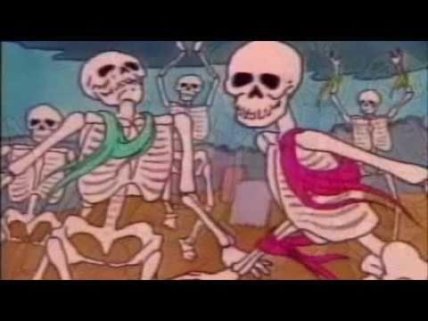 Danse Macabre Camille Saint-Saëns 1980s cartoon, PBS elementary school music class