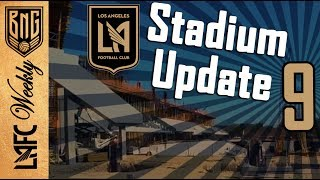 LAFC Stadium Construction Update 9