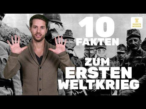 Erster Weltkrieg I Fakten und Verlauf I musstewissen G ...
