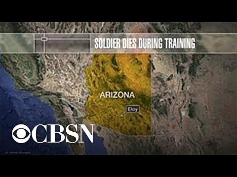 U.S. soldier dies during parachute training in Arizona