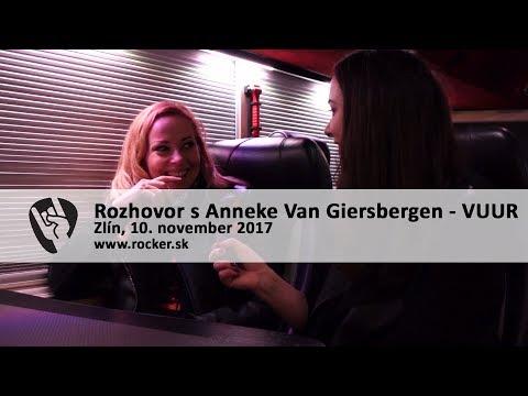 ANNEKE VAN GIERSBERGEN: O veľkomestách, slobode a novej kapele VUUR