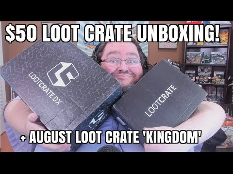 Most Expensive Lootcrate + Basic crate august 2017 - Kingdom!