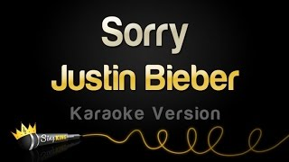 Justin Bieber - Sorry (Karaoke Version)