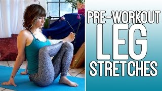 Video Pre Workout Flexibility Stretches for Runners & Athletes - Leg Exercise Routine MP3, 3GP, MP4, WEBM, AVI, FLV Desember 2018