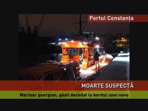 Moarte suspectă, pe o navă ancorată în Portul Constanța