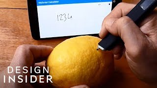 Pen Turns Any Surface Into A Notepad