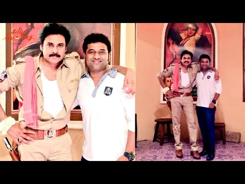 Pawan Kalyan, Devi Sri Prasad at Sardar Gabbarsingh Locations
