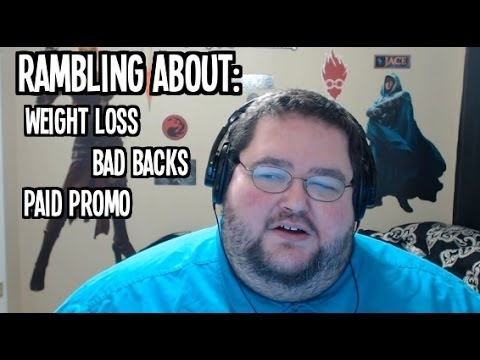 Rambling About: Weight Loss, Back Problems, Paid Promos