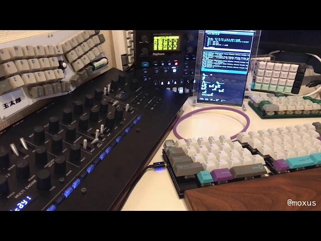 ライブコーディングと自作キーボード